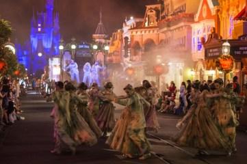 Mickey's Not So Scary Halloween Party Boo to You Parade - copyright Disney