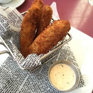 Carnation Cafe Fried Pickles