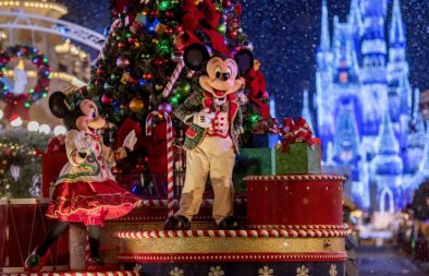 Mickey's Once Upon a Christmastime Parade - copyright Disney
