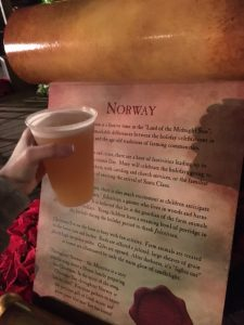 Epcot Holidays Around the World Norway Beer