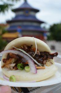China Bao Bun Walt Disney World Dining Food Kristin Fuhrmann Simmons
