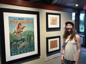 Mary Blair Art Dream Exhibition WDW Radio Kristin Fuhrmann Simmons