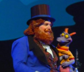 Dreamfinder and Figment at Magic Journeys Destination D: Walt Disney World - Flickr Creative Commons Ricky Brigante