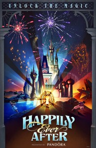 Happily Ever After attraction poster