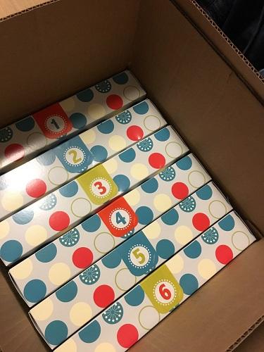 Countdown to Fun boxes