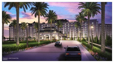 Concept Art of Disney Riviera Resort, copyright Disney