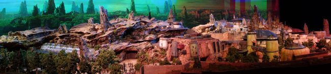 Star Wars: Galaxy's Edge model