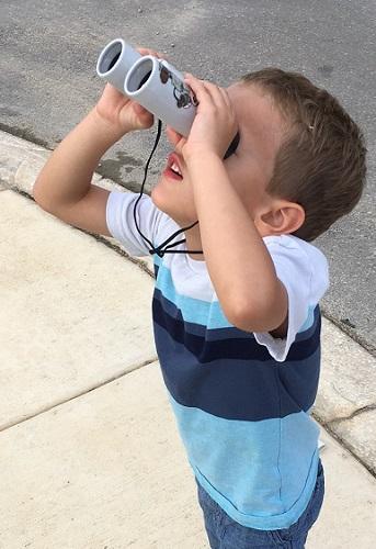 Box #3 binoculars