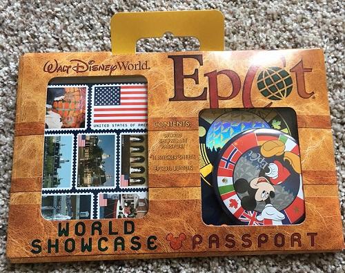 Countdown to Fun World Showcase passport kit