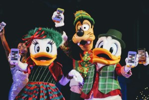 Daisy and Donald at Mickey's Most Merriest Celebration