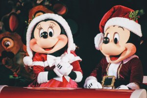 Mickey and Minnie at Mickey's Most Merriest Celebration