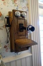 Phone in The Chapeau in Magic Kingdom Park