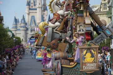 Festival of Fantasy Parade - copyright Disney