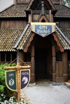 Gods of the Vikings exhibit exterior