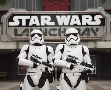 Star Wars Launch Bay - copyright Disney