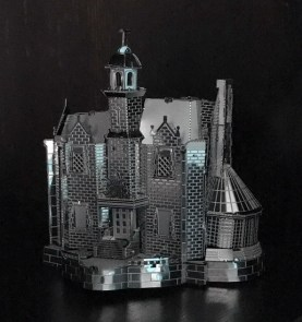Finished Haunted Mansion Metal Earth model