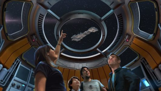 Star Wars resort views concept art - copyright Disney