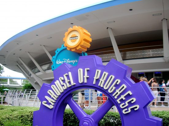 Front of Walt Disney World's Carousel of Progress:  Matt Wade, Wikipedia Creative Commons