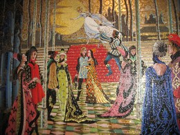 Cinderella Castle Mural - Flickr Creative Commons