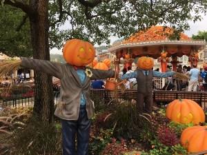 Halloween Decorations at Hong Kong Disneyland