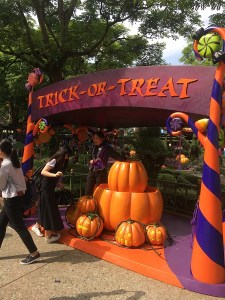 Trick or Treat station