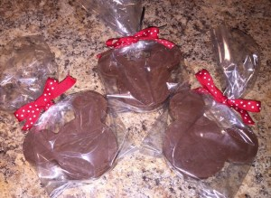 Mickey shaped fudge, Disney-themed treats