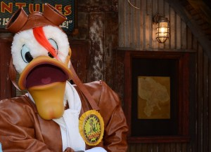 Launchpad McQuack Disney's Animal Kingdom