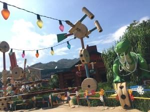 Toy Story Land Hong Kong Disney