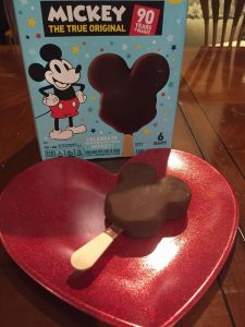 Mickey's Premium Ice Cream Bar at home