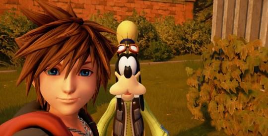 Kingdom Hearts III copyright Disney and Square Enix