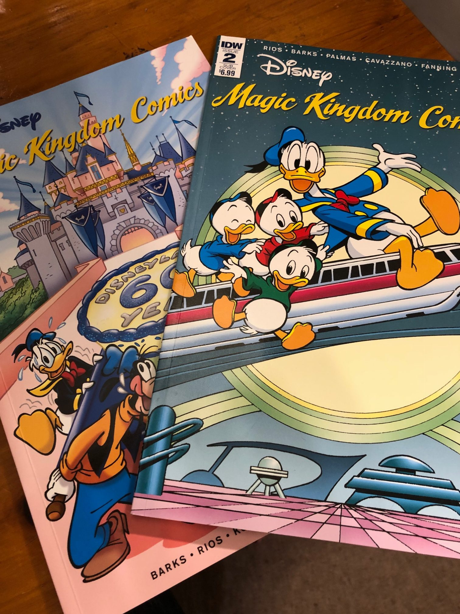 A Comic History of the Disney Parks: Part One