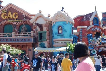 Toontown in Disneyland