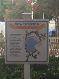 """alt=""""Grand Floridian Resort New Balance running trail map."""""""