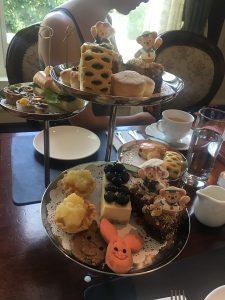 "alt=""Afternoon tea service at the Hong Kong Disneyland Resort."""