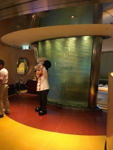 """alt=""""Mickey greets guests at Chef Mickey restaurant at the Hong Kong Disneyland Resort."""""""