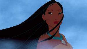 "alt=""Screen image of Pochahontas from the film, Pochahontas"""