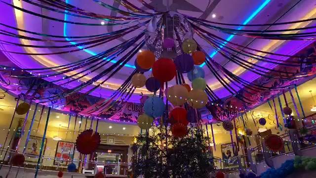LIVE video from Carnevale at Maria & Enzo's Ristorante in Disney Springs!  #MariaAndEnzosCarnevale