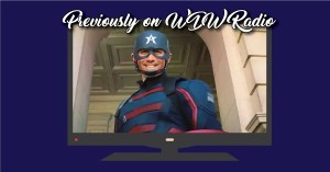 Previously on, featuring the new Captain America, Lou Mongello