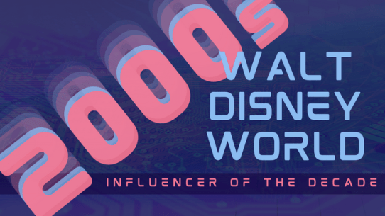 heading image introducing the Walt Disney World Influencer for the 2000s