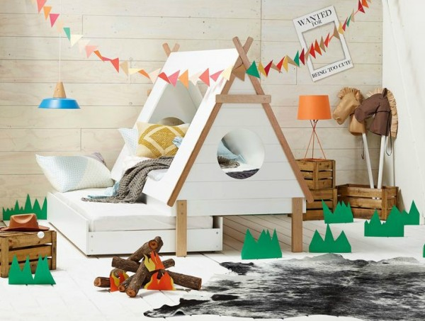 Amazing! Tee Pee Kids Trundle Bed from Domayne.
