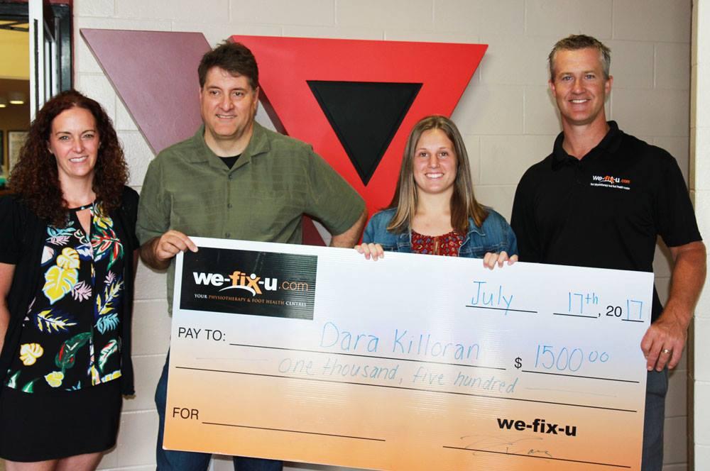 We-Fix-U Health Care Scholarship 2017 Award Presented