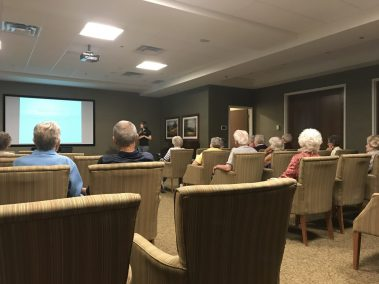 Diabetic Talk at Seniors Home