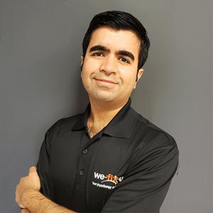 Manish Jagwani, Registered Physiotherapist