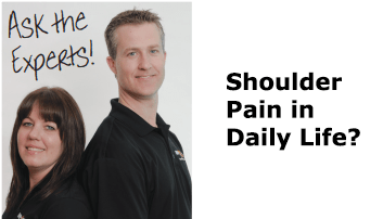 [Ask the Experts] I feel shoulder pain in my daily activities. What should I do?
