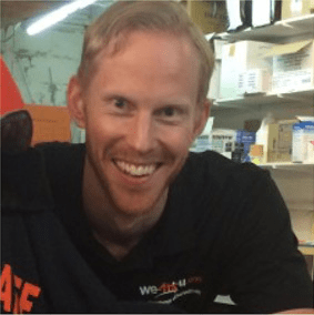 Russell Croker, Physiotherapy Assistant