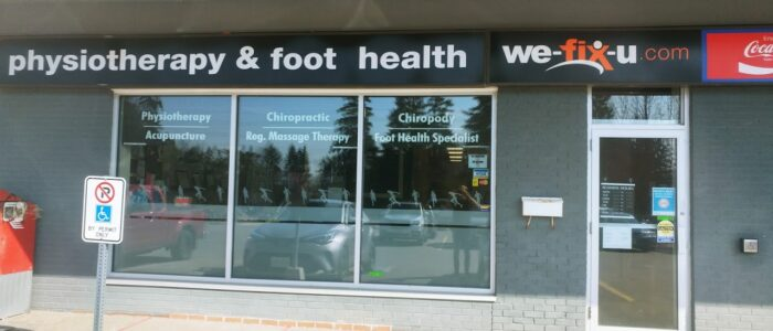 Wefixu Port Hope Physiotherapy clinic exterior