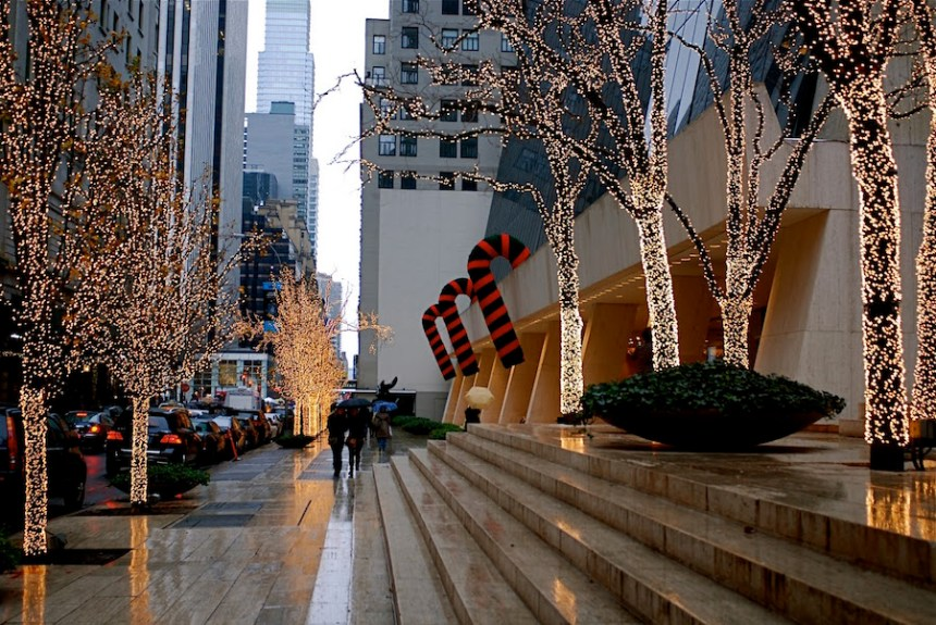solow building new york christmas