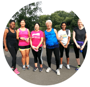 charity running coaching