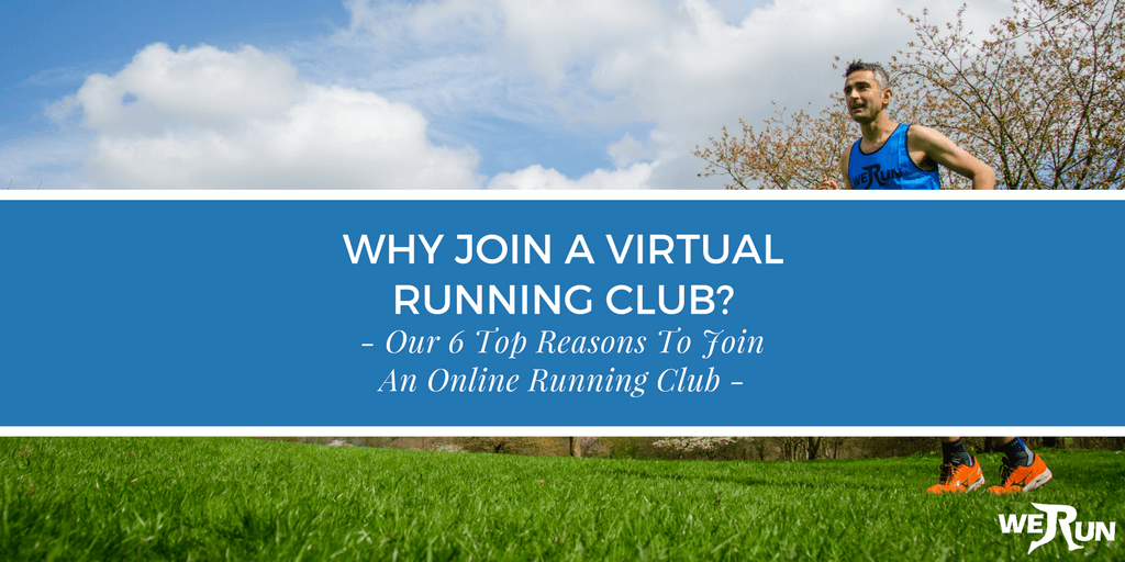 6 Reasons to join a virtual running club