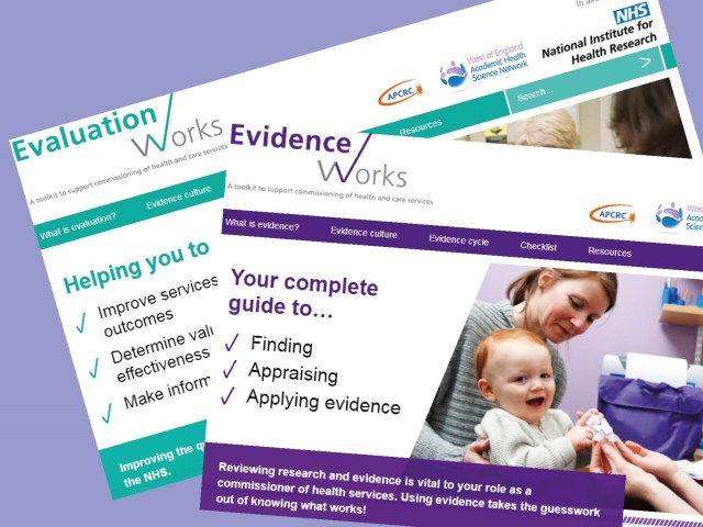 Evaluation Works and Evidence Works toolkits